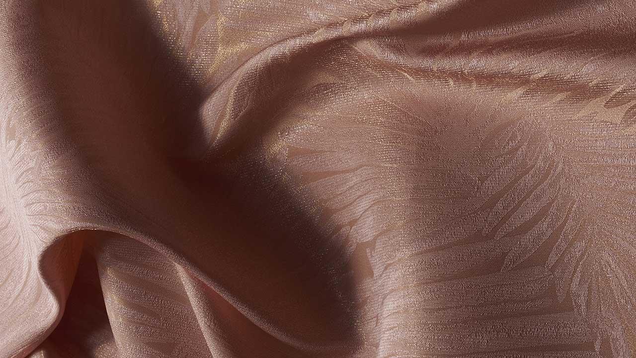 Precious fabrics displayed at Milano Unica
