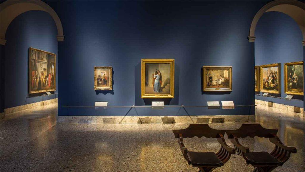 Inside Milan's Pinacoteca di Brera. Photo credits (c) Mic - Ministero della Cultura