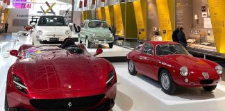A selection of car by Italian brands and designers at ADI Design Museum (c) Andrea Jarach