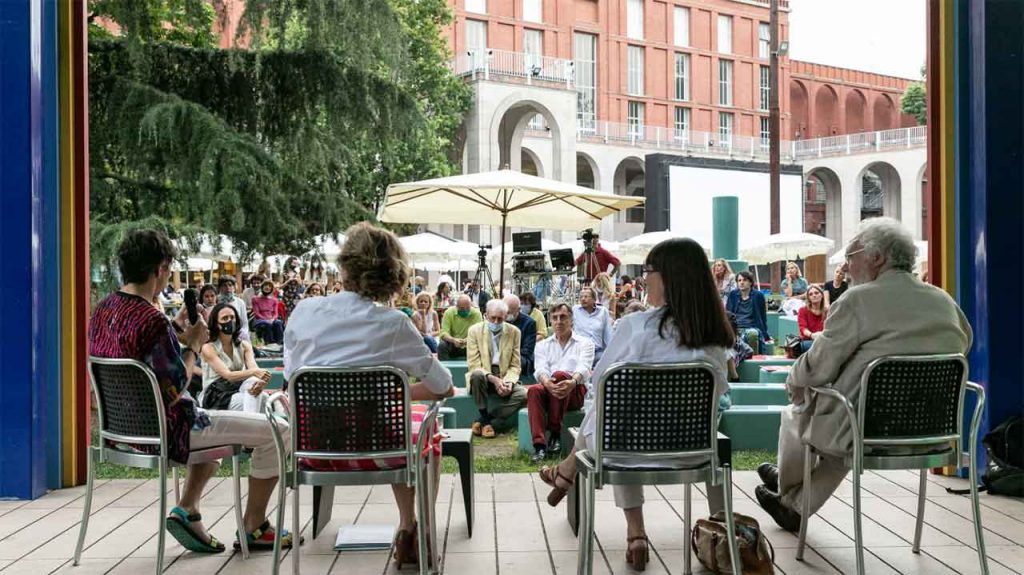 One of the events of the Triennale Estate programme. (C) Triennale di Milano. Photo credits Gianluca Di Ioia
