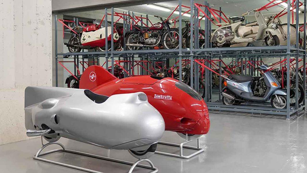Vehicles part of the Collezioni di Studio. Museo Scienza © Elena Galimberti