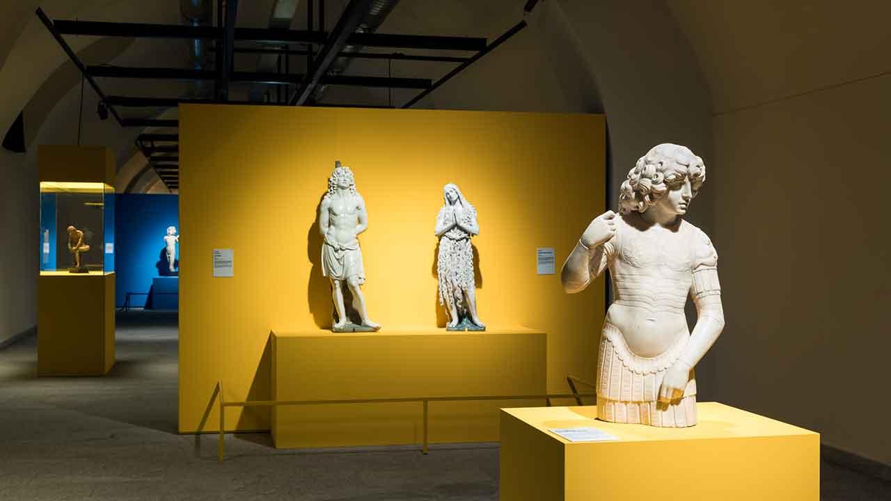 """Inside the exhibition """"Il Corpo e l'Anima, da Donatello a Michelangelo. Scultura italiana del Rinascimento"""". (c) Civita. Photo credits Gianluca Di Ioia"""