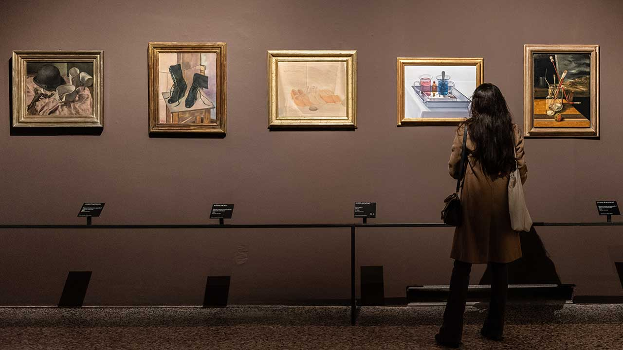 Inside the Realismo Magico exhibition, photo credits &copy Carlotta Coppo