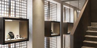 The interior of the new Villa Milano boutique