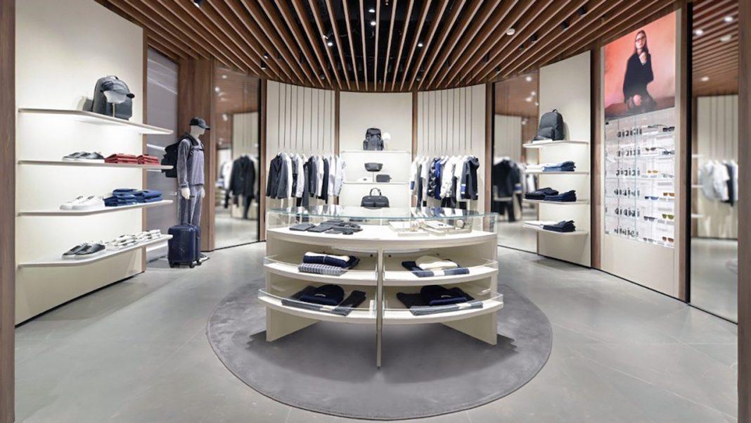 Emporio Armani store at Linate Airport