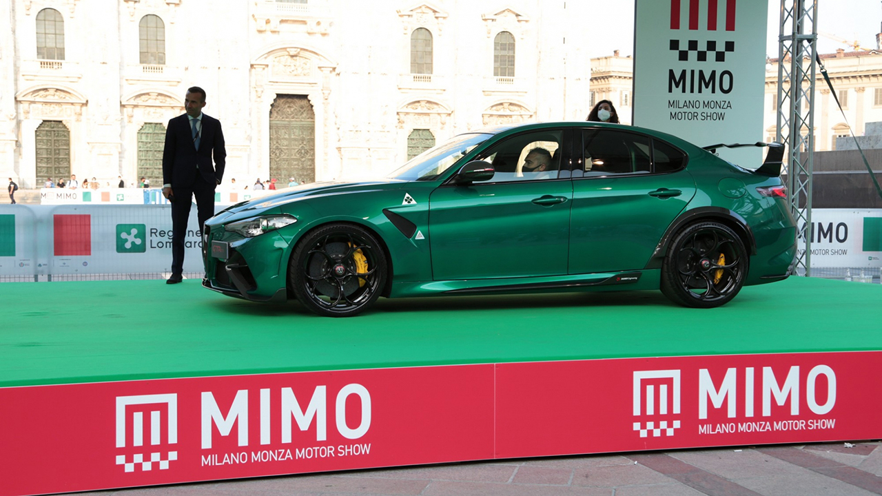A shot from the MIMO Milano Monza Motor Show 2021 event